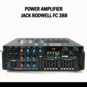 Harga ampli speaker jack rodwell fc388 bluetooth ampli | HARGALOKA.COM