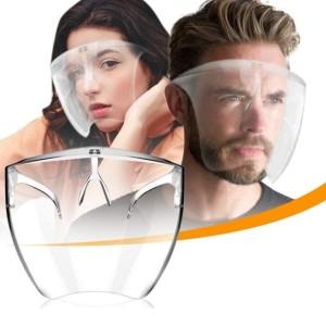 Harga face shield acrylic box satuan transparan new | HARGALOKA.COM