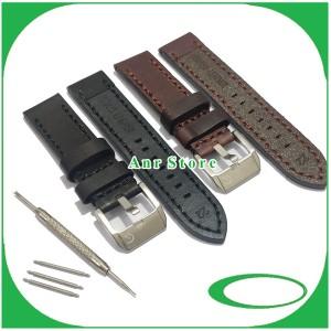 Harga strap tali jam tangan alexandre christie original oem 22 mm 24 mm   hitam   HARGALOKA.COM
