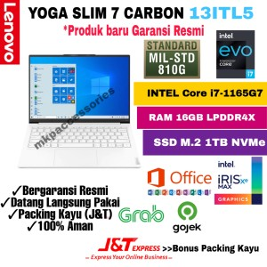 Harga laptop lenovo yoga 7i carbon core i7 1165g7 ram 16gb ssd 1tb 13 34 | HARGALOKA.COM