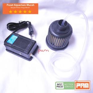 Harga komplit filter aquarium bulat toples 1 mini filter 1 q3 1m selang | HARGALOKA.COM