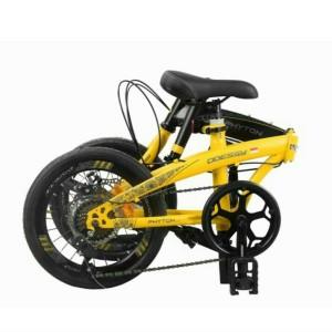 Harga sepeda lipat 20 34 odessy phyton rem cakram 7 speed   HARGALOKA.COM