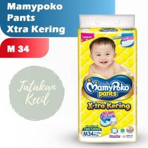 Harga mamypoko pants m34 standar xtra kering mamy poko m 34 popok   HARGALOKA.COM