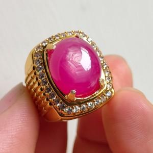 Harga cincin alpaka natural ruby birma super kelas atas edisi | HARGALOKA.COM