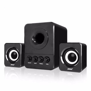Harga sada d 203 speaker stereo 2 1 with subwoofer amp usb power   | HARGALOKA.COM