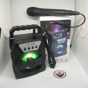 Harga speaker bluetooth portable hf s339 free microphone speaker karoke | HARGALOKA.COM