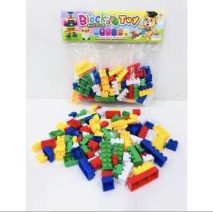 Harga mainan anak block mini isi 96pcs lego bongkar pasang balok | HARGALOKA.COM