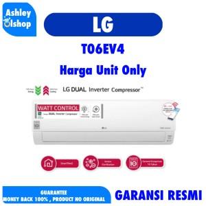 Harga ac inverter 1 2 pk low watt lg t06ev4 t06ev4 ac 0 5 pk   HARGALOKA.COM