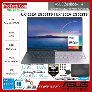 Harga laptop asus zenbook ux425ea i5 1135g7 8gb 512gb 14 fhd w10   HARGALOKA.COM