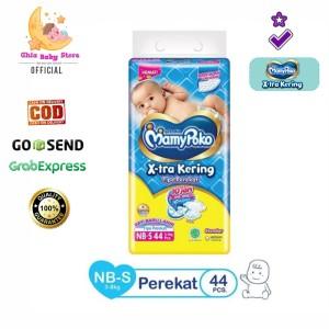 Harga mamypoko nb s 44 popok type perekat new born bayi baru   HARGALOKA.COM