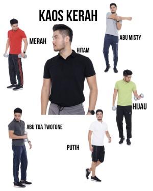 Harga polo shirt baju kerah model polos baju kerah pria wanita   m | HARGALOKA.COM