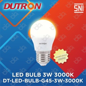 Harga dutron lampu led bulb g45 3 w 3000 k | HARGALOKA.COM