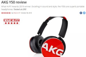Harga akg y50 headphones on ear with in line one button universal remote | HARGALOKA.COM