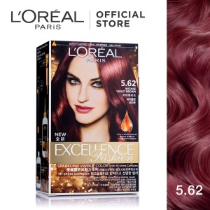 Harga l 39 oreal paris excellence fashion cat rambut   5 62 violet | HARGALOKA.COM