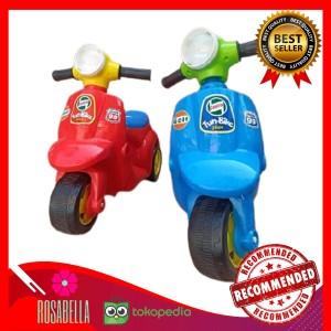 Harga mainan sepeda motor anak vespa fun bike mini scooter roda tiga | HARGALOKA.COM