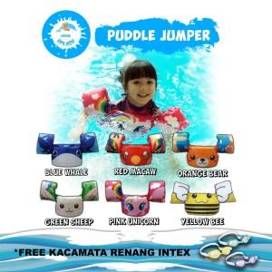 Harga baju jaket rompi ban pelampung renang anak puddle jumper kiddie splash   red | HARGALOKA.COM