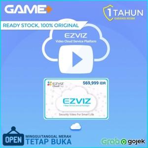 Harga ezviz cloud voucher 7 hari playback langganan 1 tahun resmi ezviz | HARGALOKA.COM