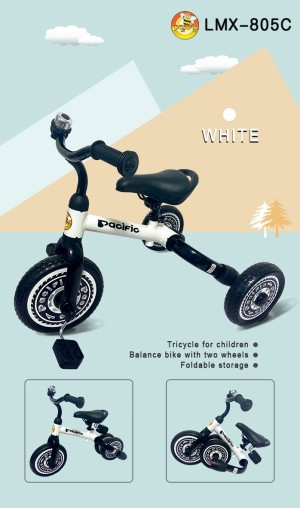 Harga sepeda anak pacific lmx   805c 2 fungsi bisa roda 3 dan balance bike   | HARGALOKA.COM