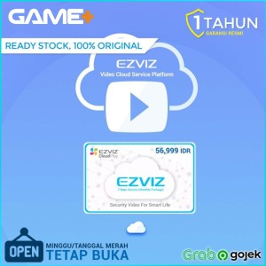 Harga ezviz cloud voucher 7 hari playback langganan sebulan resmi ezviz | HARGALOKA.COM
