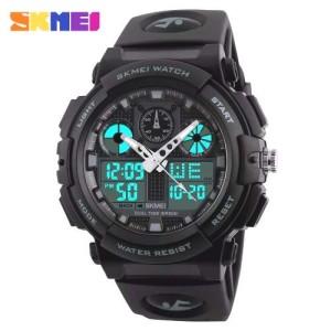 Harga jam tangan pria sport original skmei 1270 water resist 50 m g shock   | HARGALOKA.COM