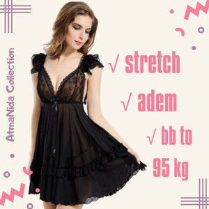 Harga lingerie hot jumbo big size baju tidur wanita dewasa sexy murah   | HARGALOKA.COM