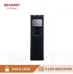 Harga dispenser galon bawah sharp swd72ehl bk garansi | HARGALOKA.COM
