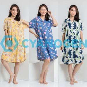 Harga dress baju tidur piyama wanita dewasa cewek daster terusan motif   contoh | HARGALOKA.COM