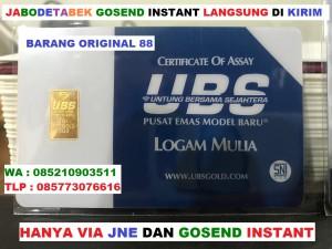 Harga logam mulia 1 gram gr ubs emas batangan 1gr 24k asli original 24 | HARGALOKA.COM