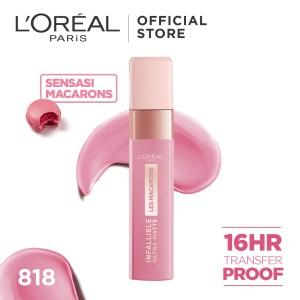 Harga l 39 oreal paris liquid matte lipstick infallibe les macarons   | HARGALOKA.COM