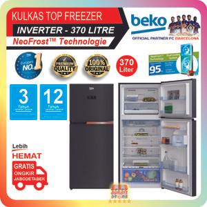 Harga kulkas 2 pintu inverter beko 370 liter neofrost | HARGALOKA.COM