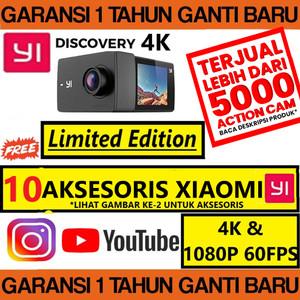 Harga xiaomi yi action camera discovery 4k touchscreen | HARGALOKA.COM