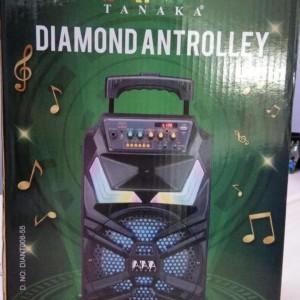 Harga speaker portable aktif tanaka antrolley spi 8 inch p | HARGALOKA.COM