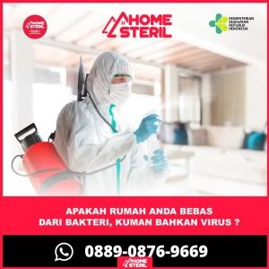 Harga jasa penyemprotan disinfektan sterilisasi rumah atau kantor   600m | HARGALOKA.COM