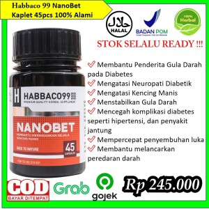 Harga nanobet obat herbal atasi gula darah diabetes dan kencing manis   HARGALOKA.COM