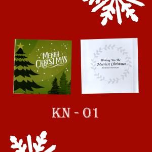 Harga kartu ucapan natal lucu bagus murah surabaya edisi melawan covid   | HARGALOKA.COM
