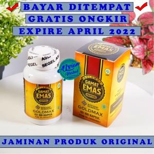 Harga goldmax gamat emas kapsul original 100 asli ekstrak teripang | HARGALOKA.COM