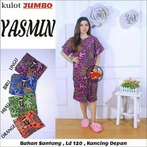 Harga setelan kulot jumbo batik murah pekalongan   | HARGALOKA.COM