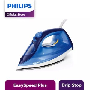 Harga philips setrika uap gc2145 25   steam iron blue garansi resmi 100   HARGALOKA.COM