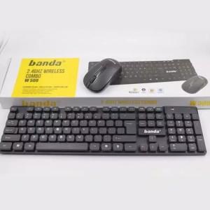 Harga keyboard mouse wireless banda | HARGALOKA.COM