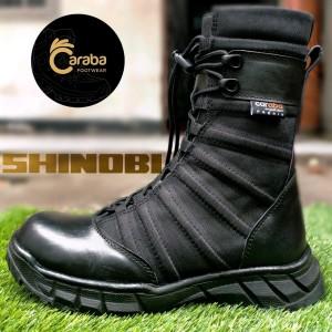 Harga sepatu pdl ninja tentara polri sepatu ninja shinobi anti air   hitam | HARGALOKA.COM