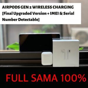 Harga headset bluetooth airpods apple oem gen 2 clone 1 1 wireless charging   gen 2 spec | HARGALOKA.COM
