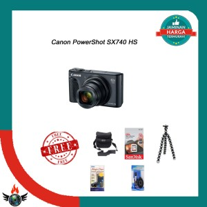 Harga canon powershot sx740 hs paket | HARGALOKA.COM