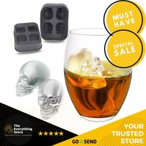 Harga theeverythingstore skull ice cube maker cetakan es batu unik | HARGALOKA.COM