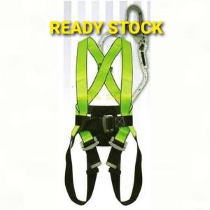 Harga safety belt full body single hook besar body harnes harness big   HARGALOKA.COM