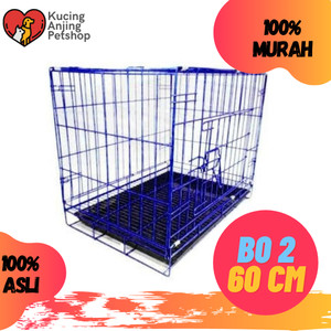 Harga kandang b 02 kandang kucing anjing murah dan kuat  gojek grab | HARGALOKA.COM