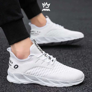 Harga phm shoes sepatu pria sneakers import sepatu olahraga kasual phm107   putih   HARGALOKA.COM