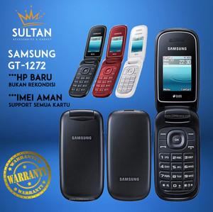 Harga hp hape handphone jadul samsung 1272 dual sim baru new termurah murah   | HARGALOKA.COM