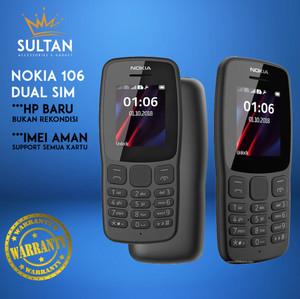 Harga hp handphone nokia 106 2018 jadul baru new dual sim termurah murah   | HARGALOKA.COM