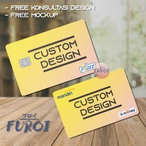 Harga kartu flazz bca kartu emoney mandiri custom design   flazz gen | HARGALOKA.COM
