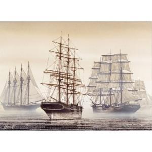 Harga jeikick jigsaw puzzle   the sailing ship   1000 pcs wooden | HARGALOKA.COM